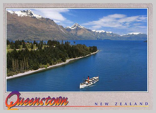 NZ-209143 - Nice postcard from New Zealand.